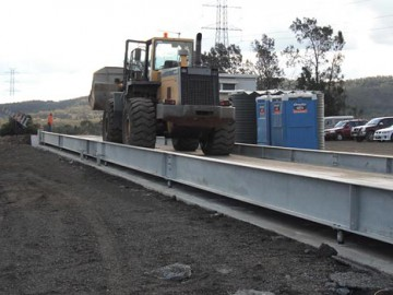 40m split deck Weighbridge for Millmerran Quarry