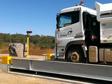 Digital Weighbridge installed at The Caves Quarry