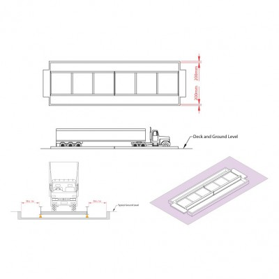 Semi-Pit Weighbridges